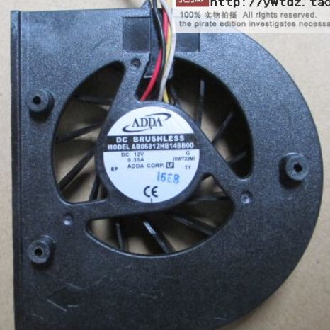 ADDA AB06812HB14BB00 Aopen DE5100 12V new original projector machine temperature control fan