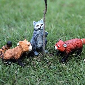 Image 3 - Oenux現実的な野生動物アクションフィギュア動物園虎馬オウム鳥固体pvcモデル置物かわいいおもちゃ子供のためギフト