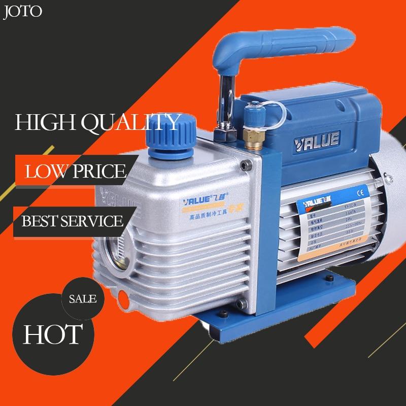 Value FY-1H-N Refrigerant Vacuum Pump 2PA Ultimate Vacuum 220Vac With Oil Bottle насосы компрессоры overflight fy 1h n
