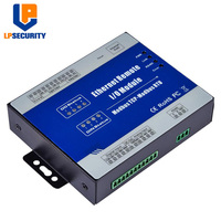 Modbus TCP IOT RTU 4 Relay Outputs with RJ45 RS485 Ports Ethernet Module inside Modbus RTU/ASCII Master M220T