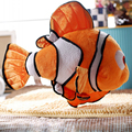 Hot 1pcs Finding Nemo Movie Cute Clown Fish Stuffed Animal Soft Plush Toys Kids Children Baby Birthday Party Gifts Dolls 2016