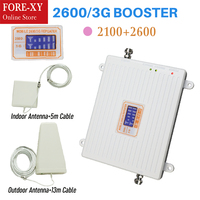 high Gain repeater 4G 2600 65dbi Ripetitore LCD WCDMA 2100MHZ 3g Mobile Phone Signal 3g 4g 2100 Repeater / Booster / Amplifier