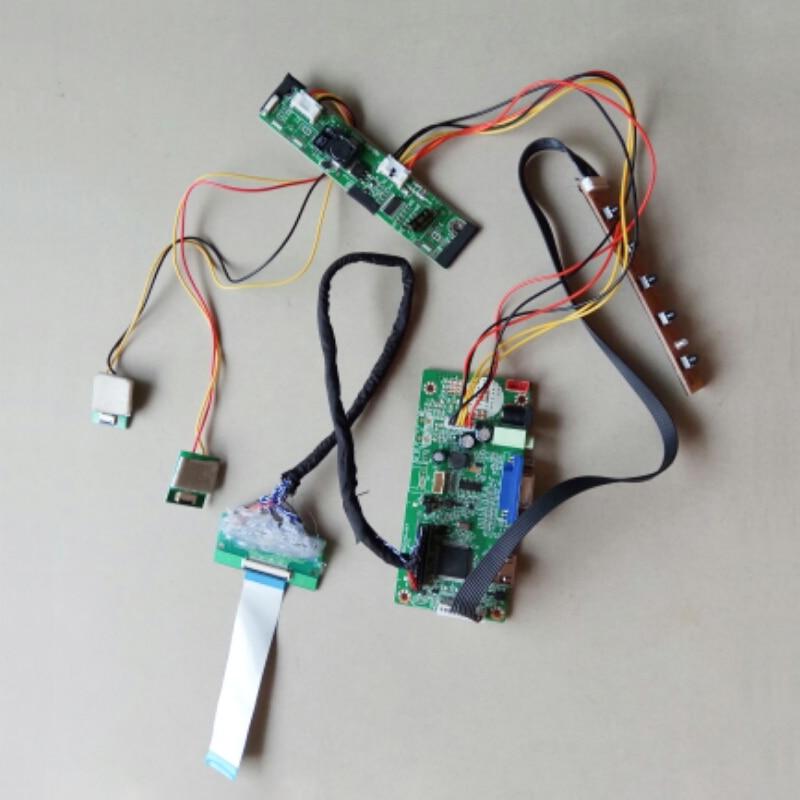 LVDS Carte Contrôleur kit de Tournevis Pour 12.3 pouces C123HAN01.0 1920 720 écran LED HDMI VGA 40 Broches Câble