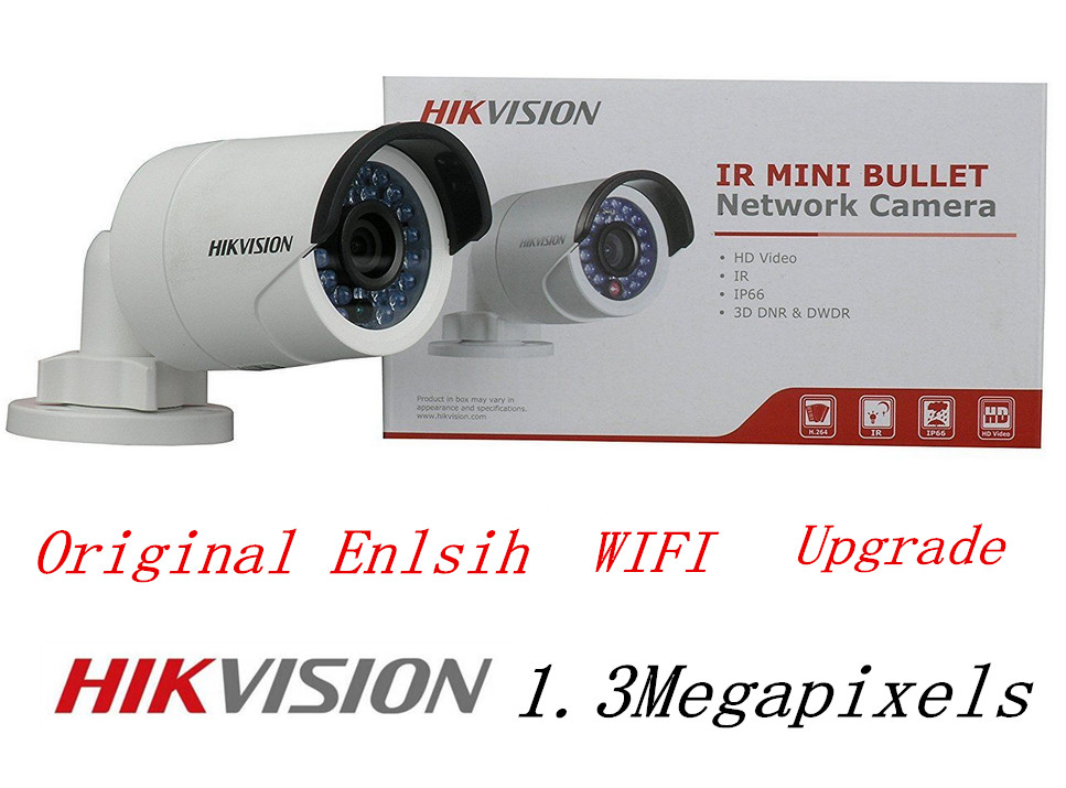 Hikvision Internation Version DS-2CD2012F-IW IP Camera 1.3MP CCTV Camera With POE WIFI Hikvision Network Camera CCTV Camera cd диск fleetwood mac rumours 2 cd