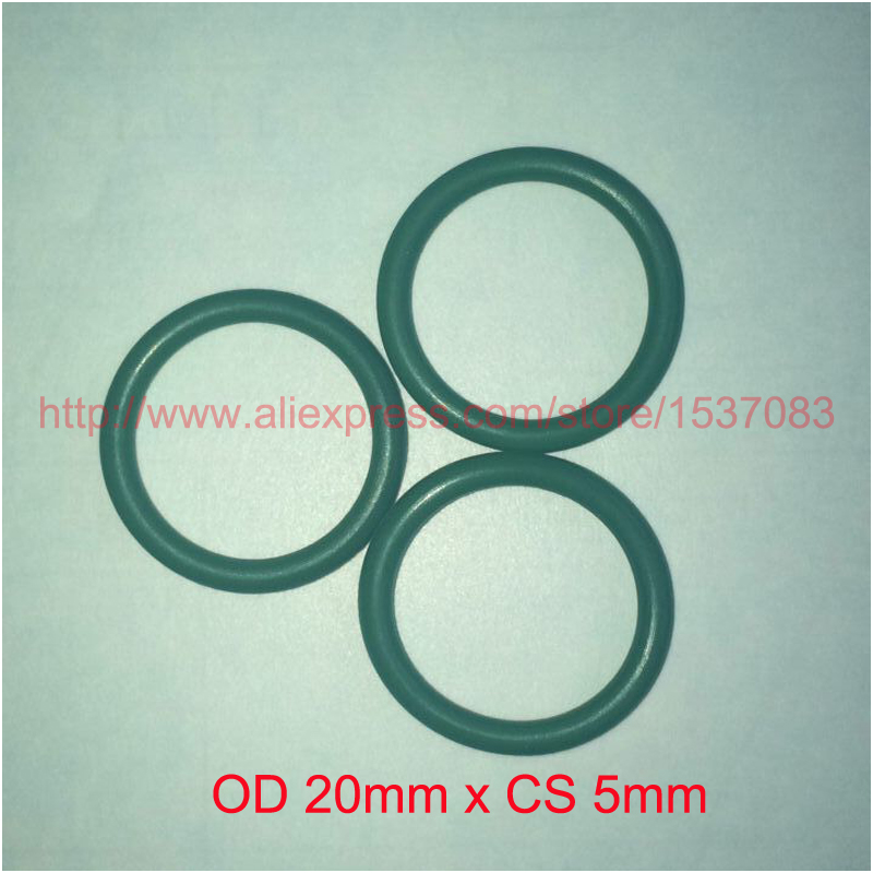 ộ_ộ ༽OD 20mm x CS 5mm viton FKM oring o-ring o ring rubber seal ...