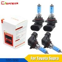 Cawanerl 4 X 100W 9005 9006 Car Styling Headlight Light Halogen Lamp For Toyota Supra Hatchback