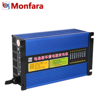 60V 18A Electric Car Bus Boat Tricycle Battery Charger Smart Automatic Intelligent Lead Acid Batterie Charging Machine 60 Volt