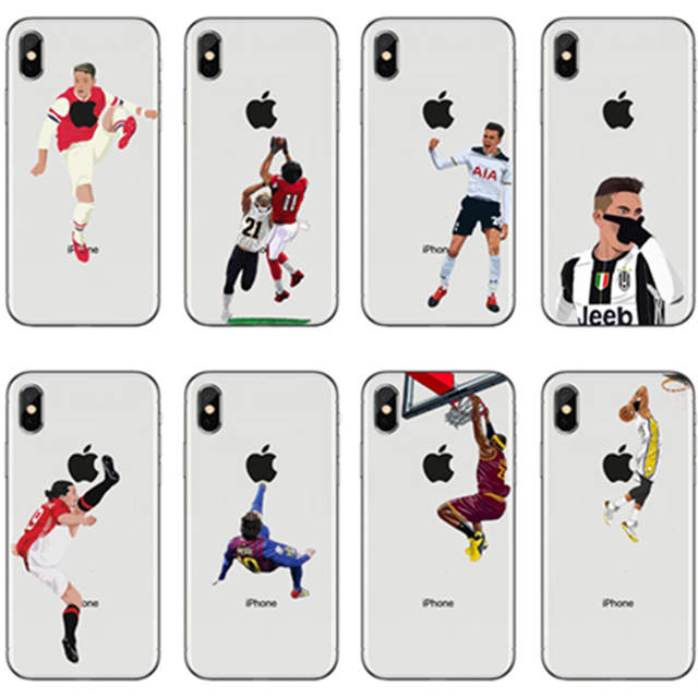 056e2dad9d7ce 2018 New Arrival Soft TPU Phone Cases For iphone 7 7Plus 8 8splus X Famous  Soccer Football Player Star Antoine Griezmann Cover