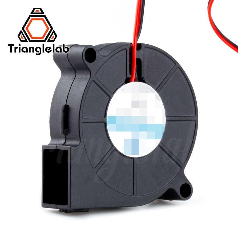 Trianglelab 5015 gebläse fan Hohe qualität kugellager lüfter DC 12V/24V Bürstenlosen Kühlung wärmeableitung für 3D drucker