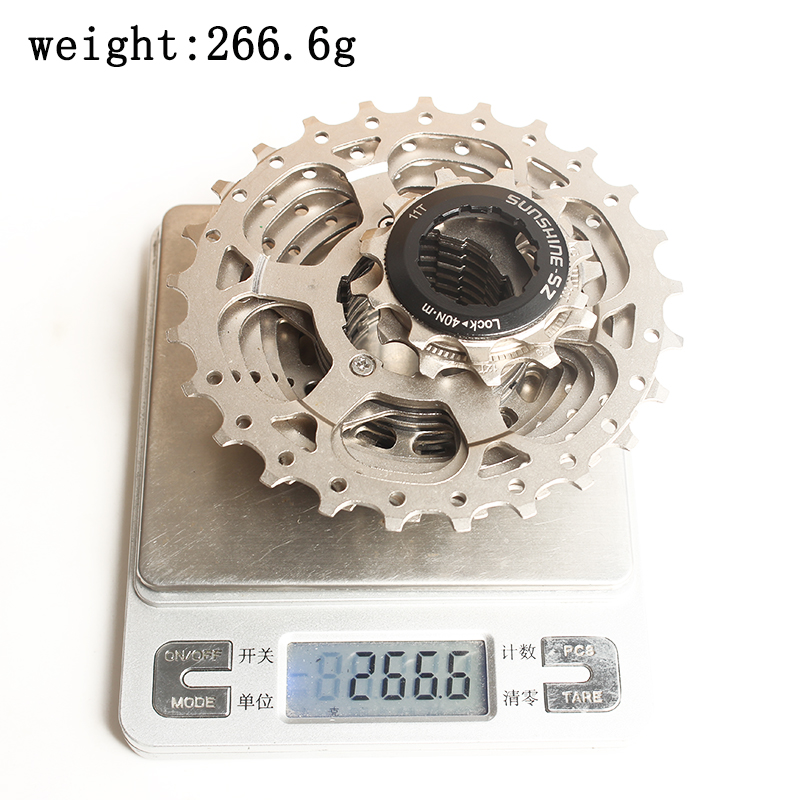 SUNSHINE SZ Road Bike 11 s Cassette 25t 11 25T Steel Freewheel 22 Speed Flywheel Sprocket for Bicycle Parts Rated 5 0 5 based in Bicycle Freewheel from Sports Entertainment