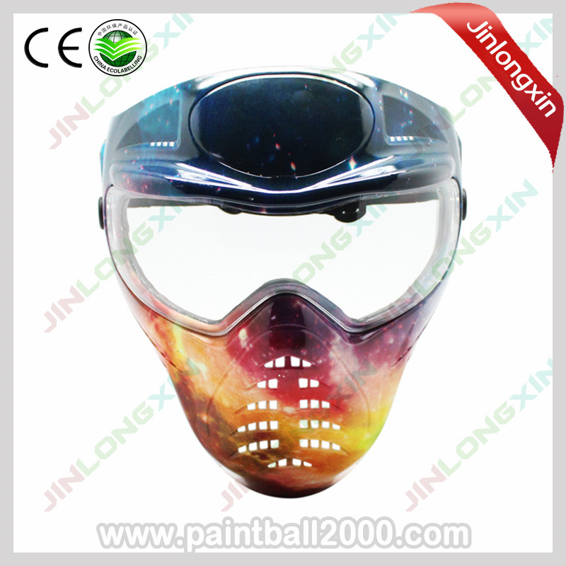 SPUNKY Tactical Anti Fog Full Face Protection Paintball Mask Archery Mask