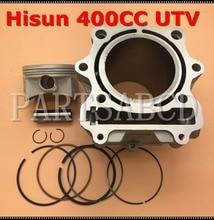 HISUN 400CC HS400 UTV גליל עם בוכנה טבעת פין סט
