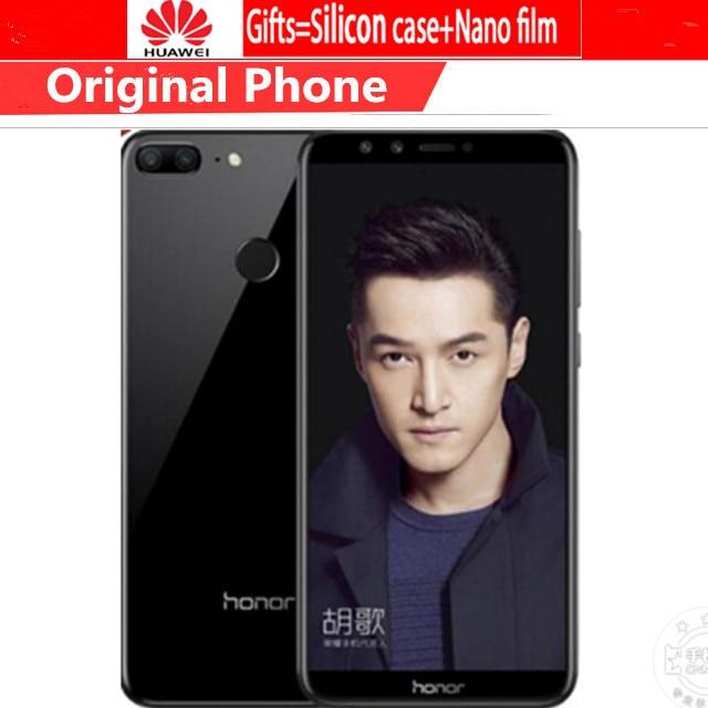 "Dapper Global Rom Huawei Honor 9 Lite 5.65 ""full View Scherm 2160 * 1080pix Android 8.0 Smartphone Octa Core 4 Camera 13mp Mobiele Telefoon Modieuze (In) Stijl;"