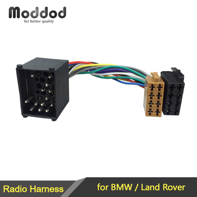 iso wiring harness adaptor for bmw 3 5 7 8 series e46 e39 land rh aliexpress com Ididit Wiring 22 Pin Ford Mirror Wiring