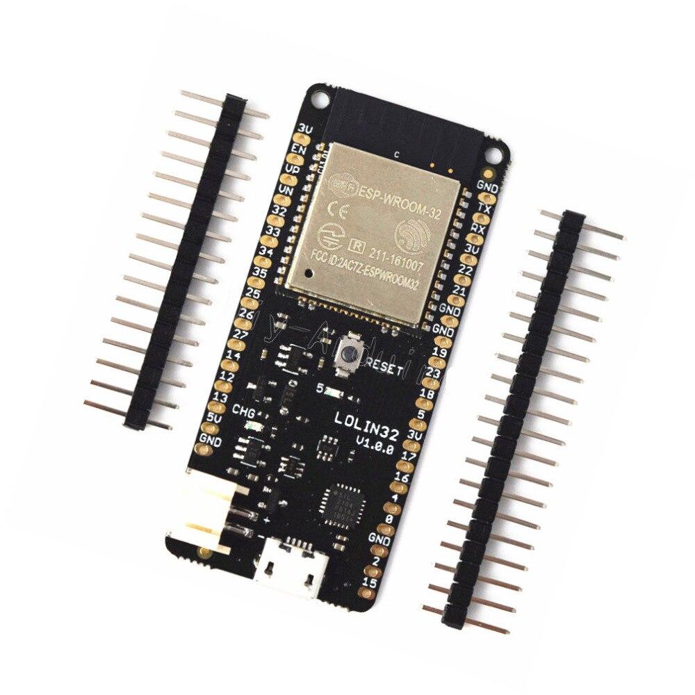 ESP32 ESP-32 ESP-32S ESP32S For WeMos Mini D1 LOLIN32 Wifi Bluetooth Wireless Board Module Based ESP-WROOM-32 Dual Core NEW