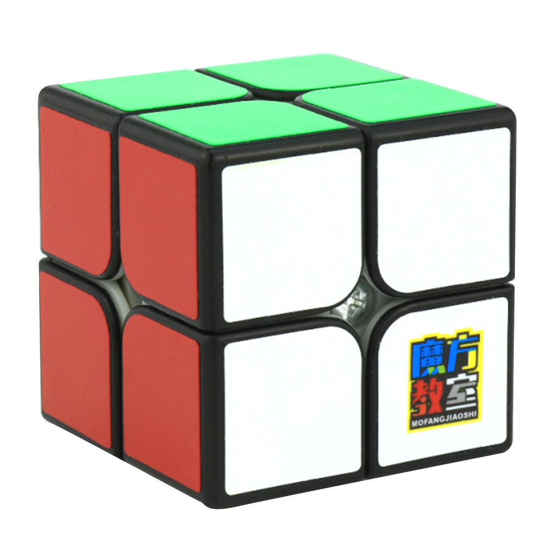 Cubing Classroom MF2C 2x2x2 Sticker Magic Cube Professional Speed Puzzle Cube Training Brain Toys Gifts For Children