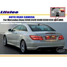 цена на License Plate Lamp OEM / HD CCD Night Vision / Rear Camera / Reverse Camera For Mercedes Benz E350 E420 E500 E550 E55 E63 AMG