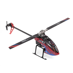 Image 2 - Wltoys helicóptero sin escobillas 3D 6G Flybarless BNF RC, helicóptero súper Compatible con FUTABA K130 B, sin transmisor, XK S FHSSRTF, 2,4G, 6 CANALES