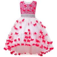 Girl Summer Dress Kids Clothes Flower Girls Dress For Wedding Events Party Baby Girl Birthday Dress