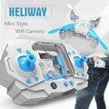 FQ11 Heliway Quad-Helicóptero 2.4 GHz 4CH Mini RC Quadcopter Drone Pequeno Bolso Zangão Brinquedo Ao Ar Livre 901