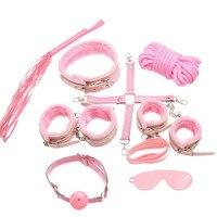Cosplay Polizei Erwachsene Spaß Plüsch Spaß 7 Stück Set Paar Spaß Kleid Leder Handschellen