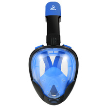 SMACO Original Snorkel Mask Full Face Scuba Diving Mask 180 Degree View Snorkeling face mask underwater Anti-fog все цены