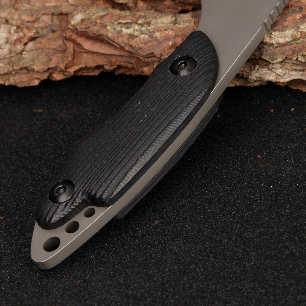 Full Tang Najnowszy nóż taktyczny Survival Camping Outdoor - Narzędzia ręczne - Zdjęcie 4