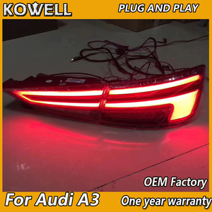 Image 2 - Car Styling for AUDI A3 Tail Lights 2013 2019  LED Tail Light  LED Rear Lamp with Dynamic turn signal