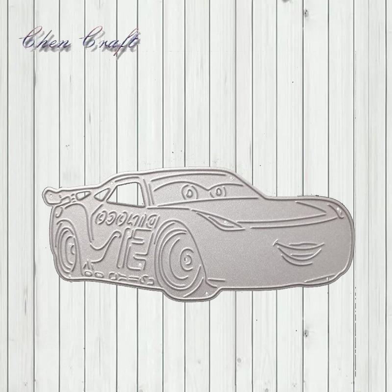 Car Sports Car Cutting Metal Clip Art Embossed Decorative Craft Paper Card Crafts New 2019