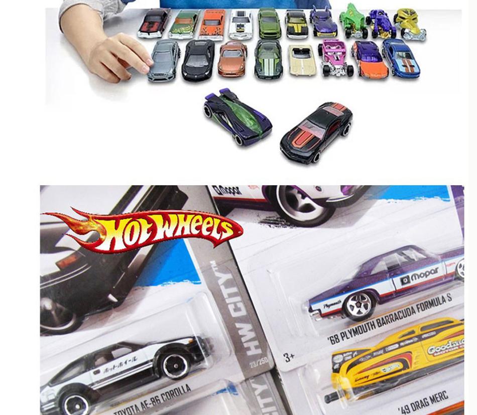 72 Style Original Hot Wheels 1 64 Metal Mini Model Car Kids Toys For