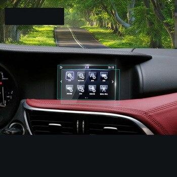 lsrtw2017 car GPS navigation  screen anti-scratch protective toughened film for infiniti qx30 2017 2018 2019 7 inch