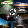 High Bright 36 LED Solar Powered Flag Pole Light Lamp 2W Dimmable Outdoor Garden Patio Adjustable