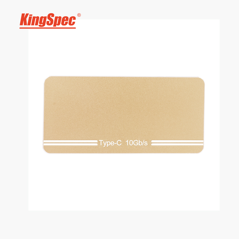 Kingspec USB3 1 Type C Gen 2 External 1 8 SSD 128GB SLC Flash Solid sate