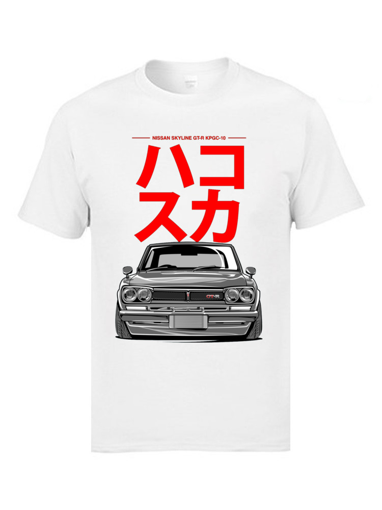 JDM Japanese Car Tshirt Speed Auto Car Classic   T     Shirts   Father Tee 100% Cotton 3D Print Men Leisure Brand Clothing Ostern Day