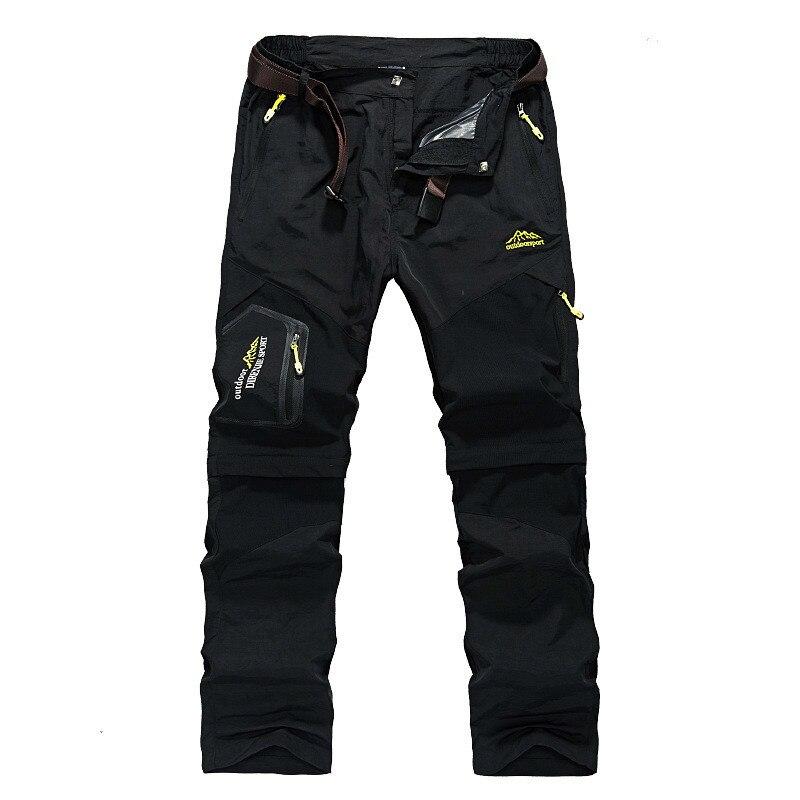 Mortonpart Rapide-séchage Léger Randonnée Pantalons Pour Hommes Shorts Camping Sports de Plein Air À Séchage Rapide Tactique Mens Pantalon de Chasse