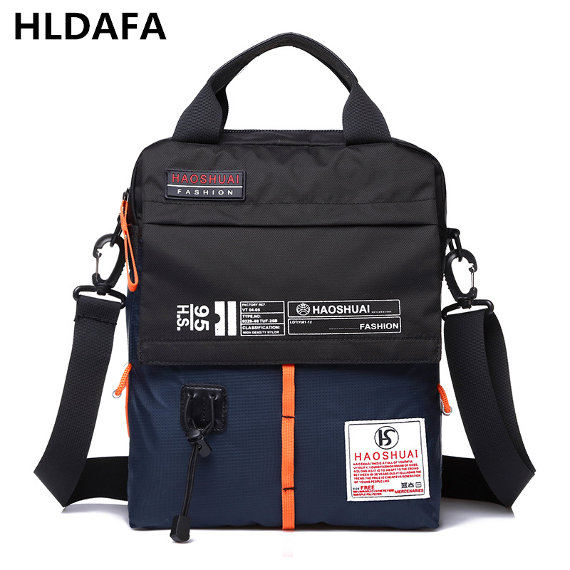 2018 New Fashion high quality Man Handbags Nylon Casual Travel Waterproof Shoulder Bags Unisex Women Messenger Bag small 7 color