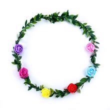 20 People Make Flower Vines Christmas Home Wedding Decoration Bridal Accessories Natural Green Artificial Leaves