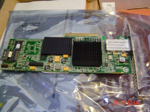 9690SA-4I4E SGL SAS/SATA Hardware RAID 3Ware PCI-E  Card Original 95%New Well Tested Working One Year Warranty 375 3536 sas raid with battery array card pci e sas card 100% test good quality