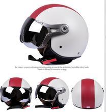 Super High-grade Unisex casque motorcycle helmet half face four season casco moto beon helmets