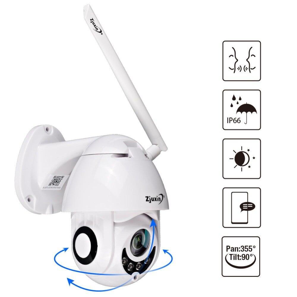 Caméra WIFI extérieure PTZ caméra IP 1080 p dôme de vitesse caméras de sécurité CCTV caméra IP WI-FI extérieur 2MP IR surveillance à domicile caméra ip