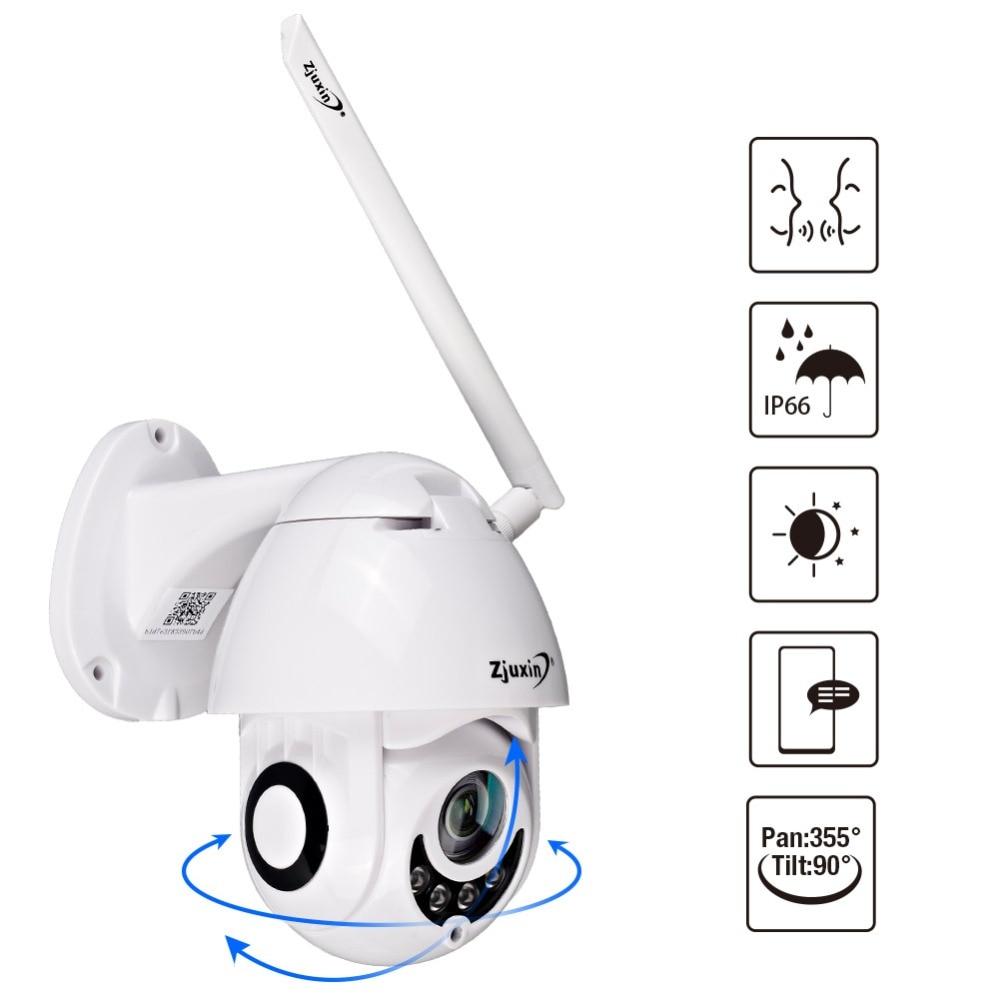 WIFI カメラ屋外 PTZ IP カメラ 1080 p 速度ドーム CCTV セキュリティカメラ IP カメラの Wi Fi 外装 2MP Ir ホーム surveilance ip カム  グループ上の セキュリティ & プロテクション からの 監視カメラ の中 1