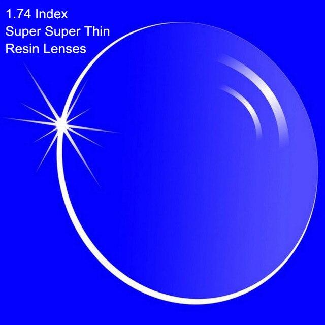 1.74 индекс линзами смолы асферические линзы для близорукости / / пресбиопии супер-тонкие с покрытием