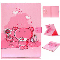 Little Bear Leather Flip Case For Apple IPad Air 2 IPad Mini 4 IPad 2 3