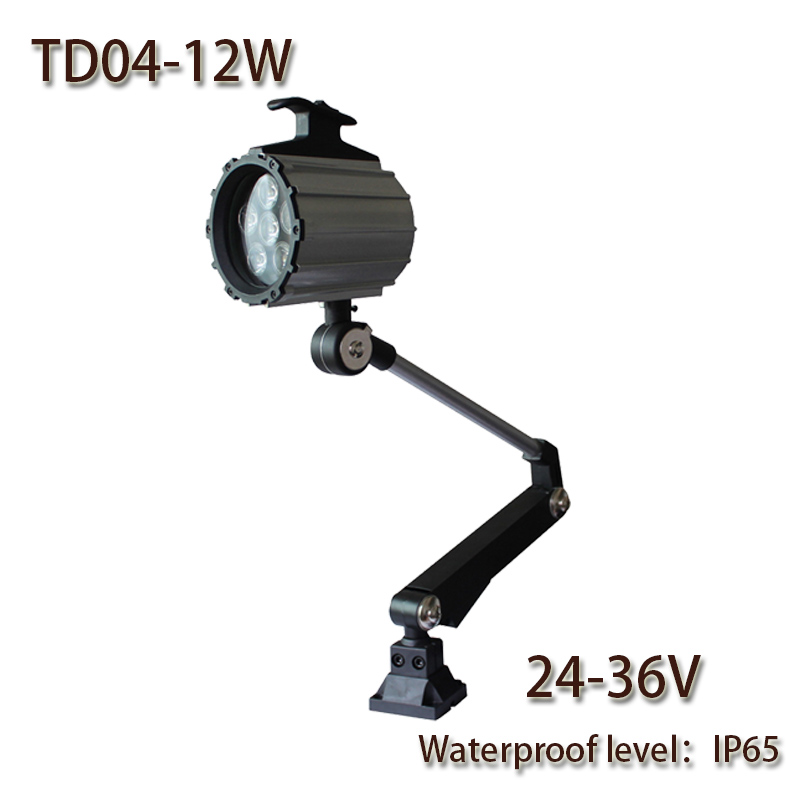 HNTD 12W DC 24V TD04 LED Long Arm Waterproof  Work light CNC machine tools lighting Fold led spotlights IP65 Free shippingHNTD 12W DC 24V TD04 LED Long Arm Waterproof  Work light CNC machine tools lighting Fold led spotlights IP65 Free shipping