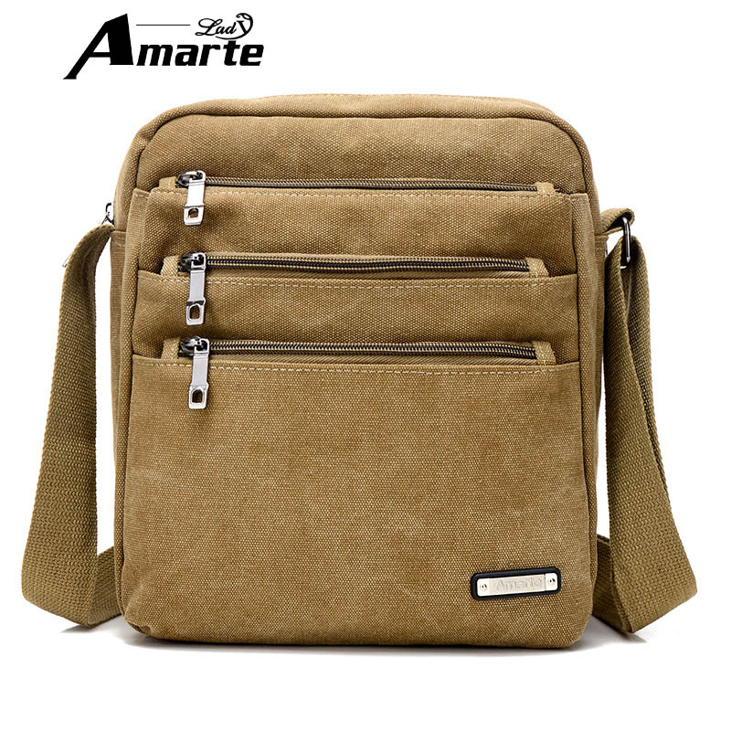 High Quality Men Canvas Bag Vintage Designer Men Crossbody Bags Small Travel Messenger Bag 2016 Male Multifunction Business Bag high quality multifunction canvas bag men travel messenger bags men crossbody brand vintage style shoulder bag ybb070