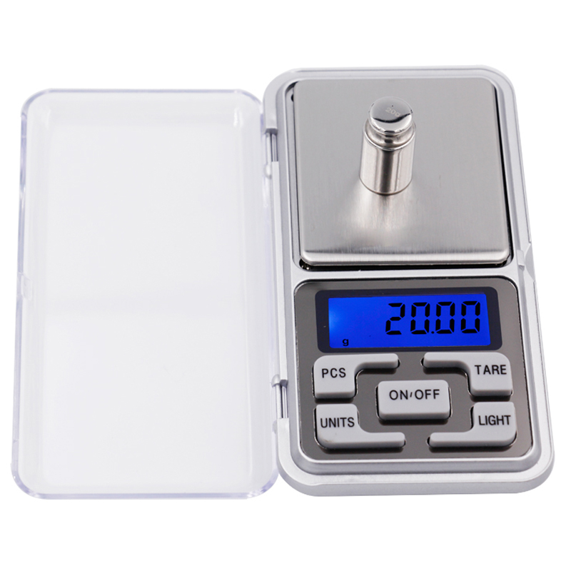 BY dhl/fedex 500 pcs Digital scale 300g x 0.01g LCD Digital Pocket Balance Weight Jewelry Scale Kitchen scale with retail box