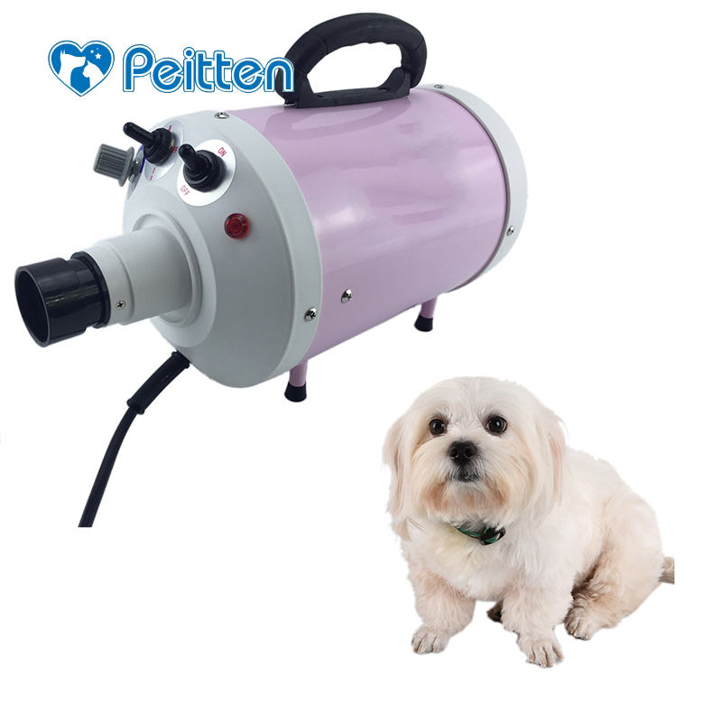 New arrival 110V/220V Light Weight Portable Dog Grooming Dryer Cheap Pet Hair Dryer Blower EU/US/UK for dropshipping