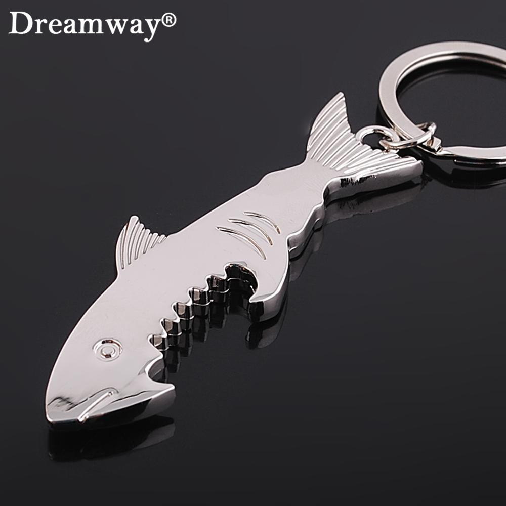 shark bottle opener keychain zinc alloy multifunction fish corkscrew key chains souvenirs gift. Black Bedroom Furniture Sets. Home Design Ideas