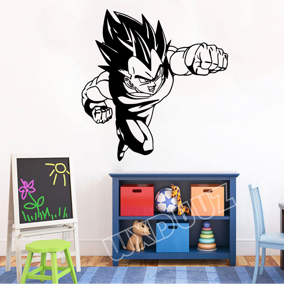 Stickers Pour Fenetre Chambre autocollant mural stickers muraux chambre dragon ball z