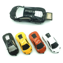 2017 mini sport car shape pendrive 4GB 8GB 16GB 32GB cool usb stick pen drive renault usb flash drive toy gift for boy or girl(China)